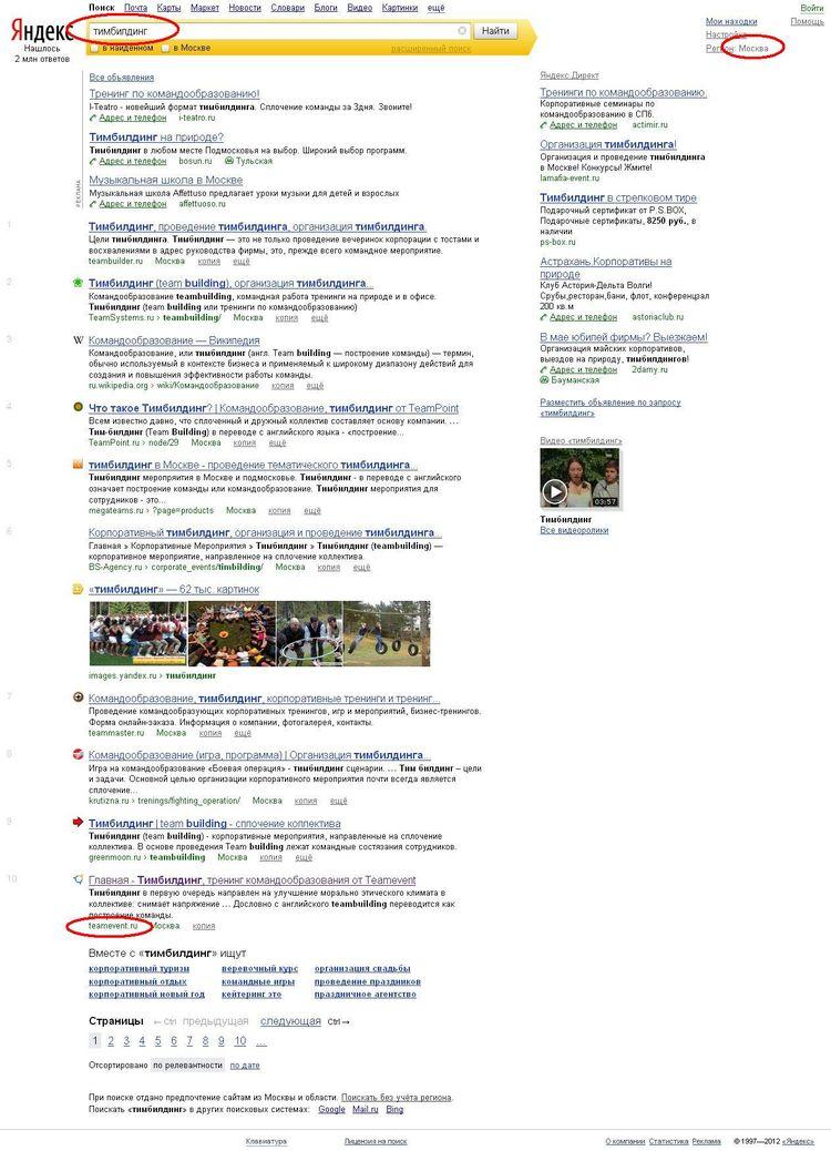 Продвижение сайтов в топ 10 яндекса бесплатно